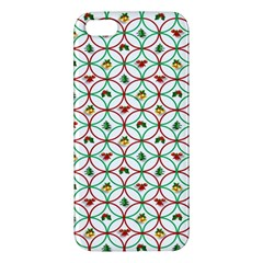 Christmas Decorations Background Apple Iphone 5 Premium Hardshell Case by Onesevenart