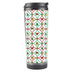 Christmas Decorations Background Travel Tumbler by Onesevenart