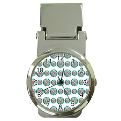 Christmas 3d Decoration Colorful Money Clip Watches by Onesevenart