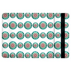 Christmas 3d Decoration Colorful Ipad Air Flip by Onesevenart