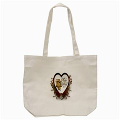 Christmas D¨|cor Decoration Winter Tote Bag (cream) by Onesevenart