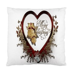 Christmas D¨|cor Decoration Winter Standard Cushion Case (two Sides) by Onesevenart