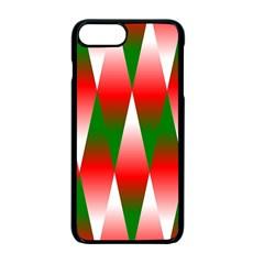 Christmas Geometric Background Apple Iphone 7 Plus Seamless Case (black) by Onesevenart