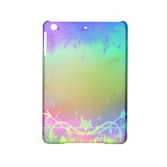 Christmas Greeting Card Frame Ipad Mini 2 Hardshell Cases by Onesevenart