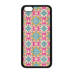 Christmas Holidays Seamless Pattern Apple Iphone 5c Seamless Case (black) by Onesevenart