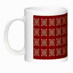 Christmas Paper Wrapping Paper Night Luminous Mugs by Onesevenart
