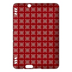 Christmas Paper Wrapping Paper Kindle Fire Hdx Hardshell Case by Onesevenart