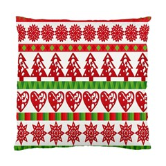Christmas Icon Set Bands Star Fir Standard Cushion Case (one Side) by Onesevenart
