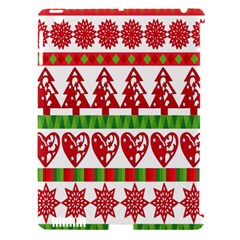 Christmas Icon Set Bands Star Fir Apple Ipad 3/4 Hardshell Case (compatible With Smart Cover) by Onesevenart