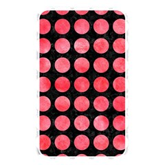 Circles1 Black Marble & Red Watercolor (r) Memory Card Reader by trendistuff