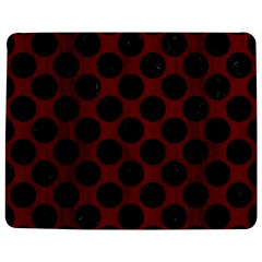 Circles2 Black Marble & Red Wood Jigsaw Puzzle Photo Stand (rectangular) by trendistuff
