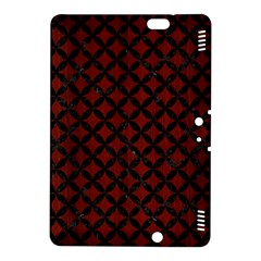 Circles3 Black Marble & Red Wood Kindle Fire Hdx 8 9  Hardshell Case by trendistuff