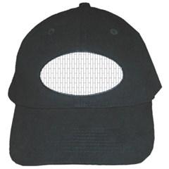 Line Black Black Cap by Alisyart