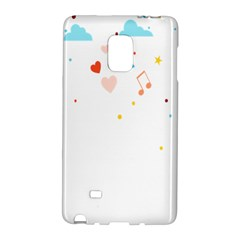 Music Cloud Heart Love Valentine Star Polka Dots Rainbow Mask Sky Galaxy Note Edge by Alisyart
