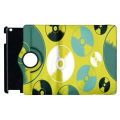 Streaming Forces Music Disc Apple Ipad 2 Flip 360 Case by Alisyart