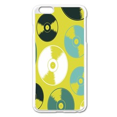 Streaming Forces Music Disc Apple Iphone 6 Plus/6s Plus Enamel White Case by Alisyart