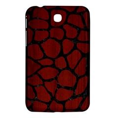 Skin1 Black Marble & Red Wood (r) Samsung Galaxy Tab 3 (7 ) P3200 Hardshell Case  by trendistuff