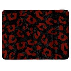 Skin5 Black Marble & Red Wood Samsung Galaxy Tab 7  P1000 Flip Case by trendistuff