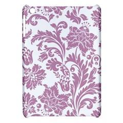 Vintage Floral Pattern Apple Ipad Mini Hardshell Case by 8fugoso