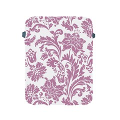 Vintage Floral Pattern Apple Ipad 2/3/4 Protective Soft Cases by 8fugoso