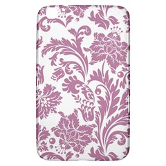 Vintage Floral Pattern Samsung Galaxy Tab 3 (8 ) T3100 Hardshell Case  by 8fugoso
