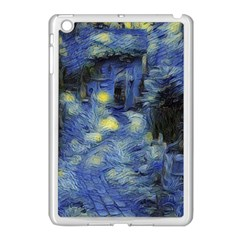 Van Gogh Inspired Apple Ipad Mini Case (white) by 8fugoso