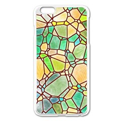 Mosaic Linda 2 Apple Iphone 6 Plus/6s Plus Enamel White Case by MoreColorsinLife
