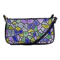 Mosaic Linda 5 Shoulder Clutch Bags by MoreColorsinLife