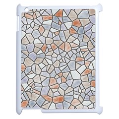Mosaic Linda 6 Apple Ipad 2 Case (white) by MoreColorsinLife
