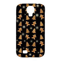 Ginger Cookies Christmas Pattern Samsung Galaxy S4 Classic Hardshell Case (pc+silicone) by Valentinaart