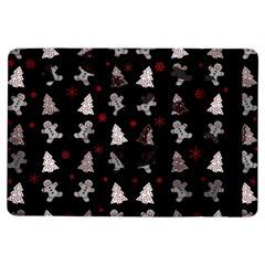 Ginger Cookies Christmas Pattern Ipad Air Flip by Valentinaart