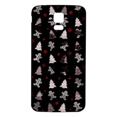 Ginger Cookies Christmas Pattern Samsung Galaxy S5 Back Case (white) by Valentinaart