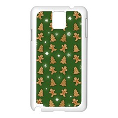 Ginger Cookies Christmas Pattern Samsung Galaxy Note 3 N9005 Case (white) by Valentinaart