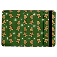 Ginger Cookies Christmas Pattern Ipad Air Flip by Valentinaart