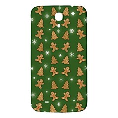 Ginger Cookies Christmas Pattern Samsung Galaxy Mega I9200 Hardshell Back Case by Valentinaart