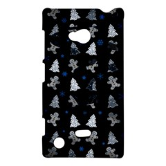 Ginger Cookies Christmas Pattern Nokia Lumia 720 by Valentinaart