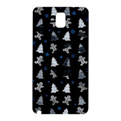 Ginger Cookies Christmas Pattern Samsung Galaxy Note 3 N9005 Hardshell Back Case by Valentinaart