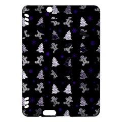 Ginger Cookies Christmas Pattern Kindle Fire Hdx Hardshell Case by Valentinaart