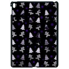 Ginger Cookies Christmas Pattern Apple Ipad Pro 9 7   Black Seamless Case by Valentinaart