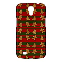 Ginger Cookies Christmas Pattern Samsung Galaxy Mega 6 3  I9200 Hardshell Case by Valentinaart