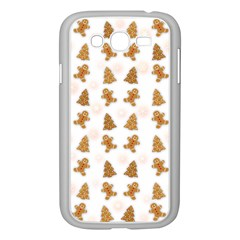 Ginger Cookies Christmas Pattern Samsung Galaxy Grand Duos I9082 Case (white) by Valentinaart