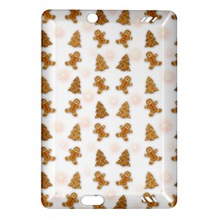 Ginger Cookies Christmas Pattern Amazon Kindle Fire Hd (2013) Hardshell Case by Valentinaart