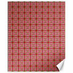 Christmas Paper Wrapping Paper Canvas 16  X 20   by Onesevenart