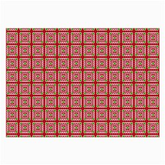Christmas Paper Wrapping Paper Large Glasses Cloth (2 Side) by Onesevenart