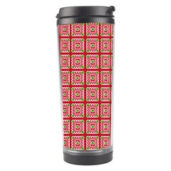Christmas Paper Wrapping Paper Travel Tumbler by Onesevenart