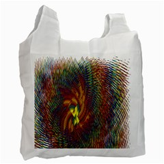Fire New Year S Eve Spark Sparkler Recycle Bag (two Side)  by Onesevenart