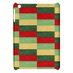 Fabric Coarse Texture Rough Red Apple Ipad Mini Hardshell Case by Onesevenart