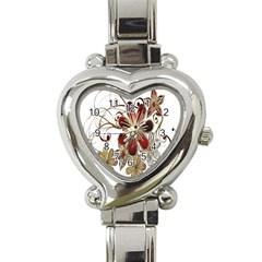 Gemstones Gems Jewelry Diamond Heart Italian Charm Watch by Onesevenart