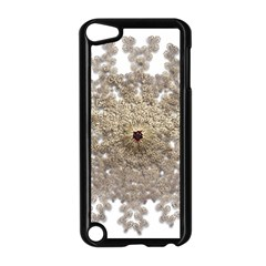 Gold Golden Gems Gemstones Ruby Apple Ipod Touch 5 Case (black) by Onesevenart