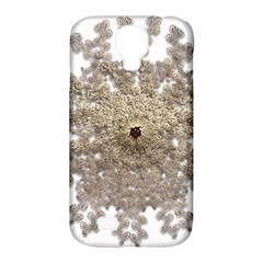 Gold Golden Gems Gemstones Ruby Samsung Galaxy S4 Classic Hardshell Case (pc+silicone) by Onesevenart